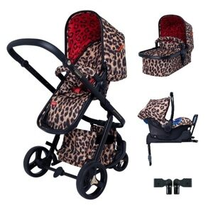 Коляска 3-в-1 Cosatto Giggle 3 Limited Edition Hear us roar + БАЗА ISOFIX